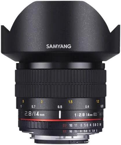 Samyang 14mm F 2.8 For Nikon Ae