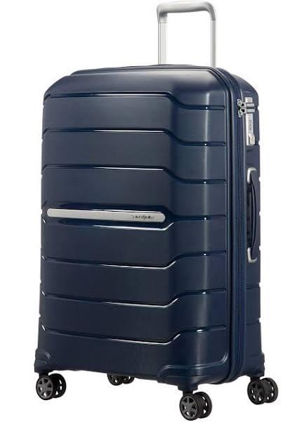 Samsonite Flux - Resväska med 4 hjul - blå