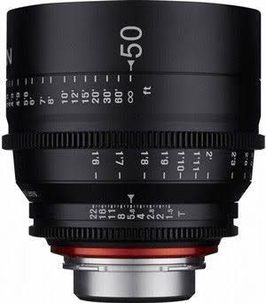 Xeen 50mm T1.5 Canon EF