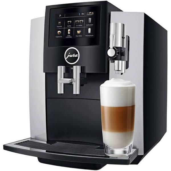 Jura 15202 S8 Moonlight Silver Espressomaskin