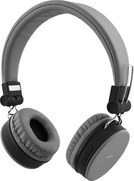 STREETZ Bluetooth-hörlurar med mikrofon, grå