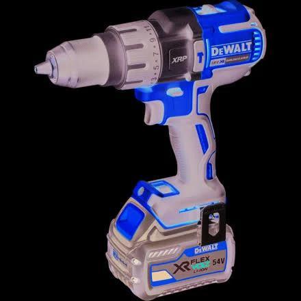 DeWalt DCD996T2 XR FlexVolt Borrskruvdragare med 6,0Ah batterier och laddare