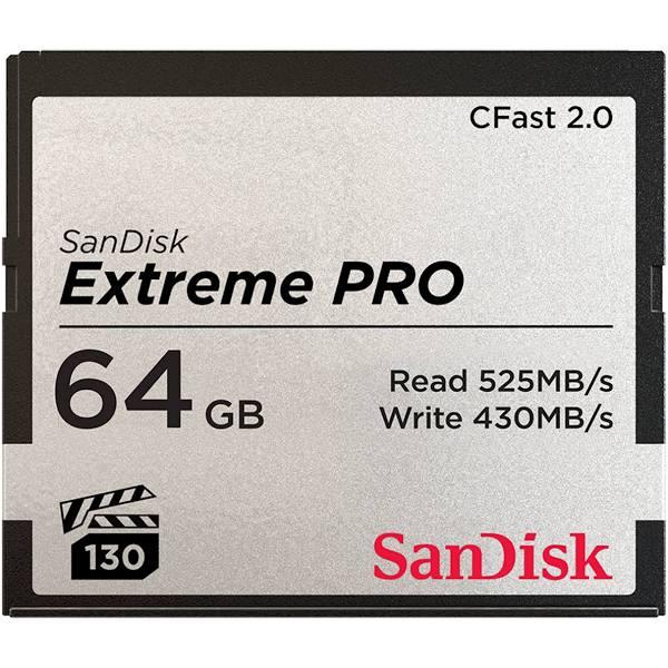 SANDISK - Extreme Pro CFAST 2.0 64GB