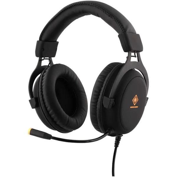 DELTACO GAMING Stereo Headset 57mm element LED-belysning
