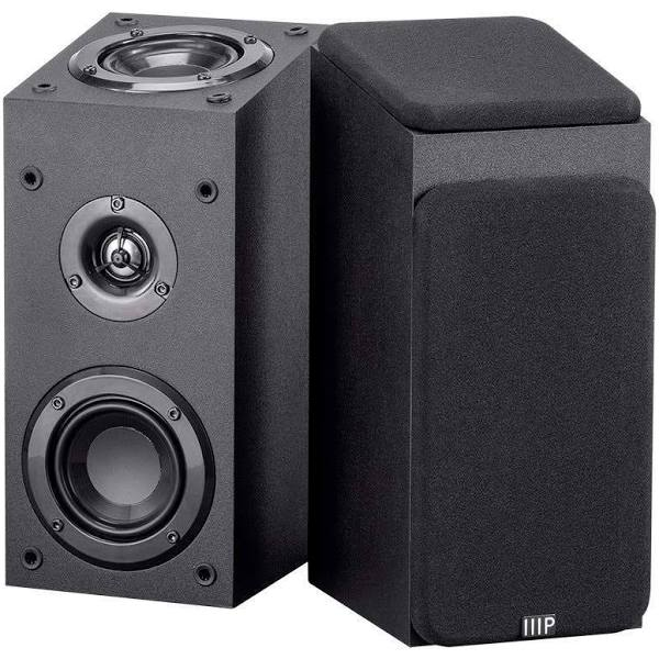 Premium Immersive Satellite Speakers Pair by Monoprice