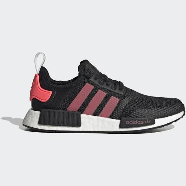 Adidas NMD_R1 Shoes - Herr - Core Black / Signal Pink / Cloud White - 46