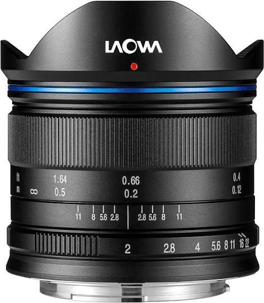 Laowa 7.5mm f/2 MFT Sort