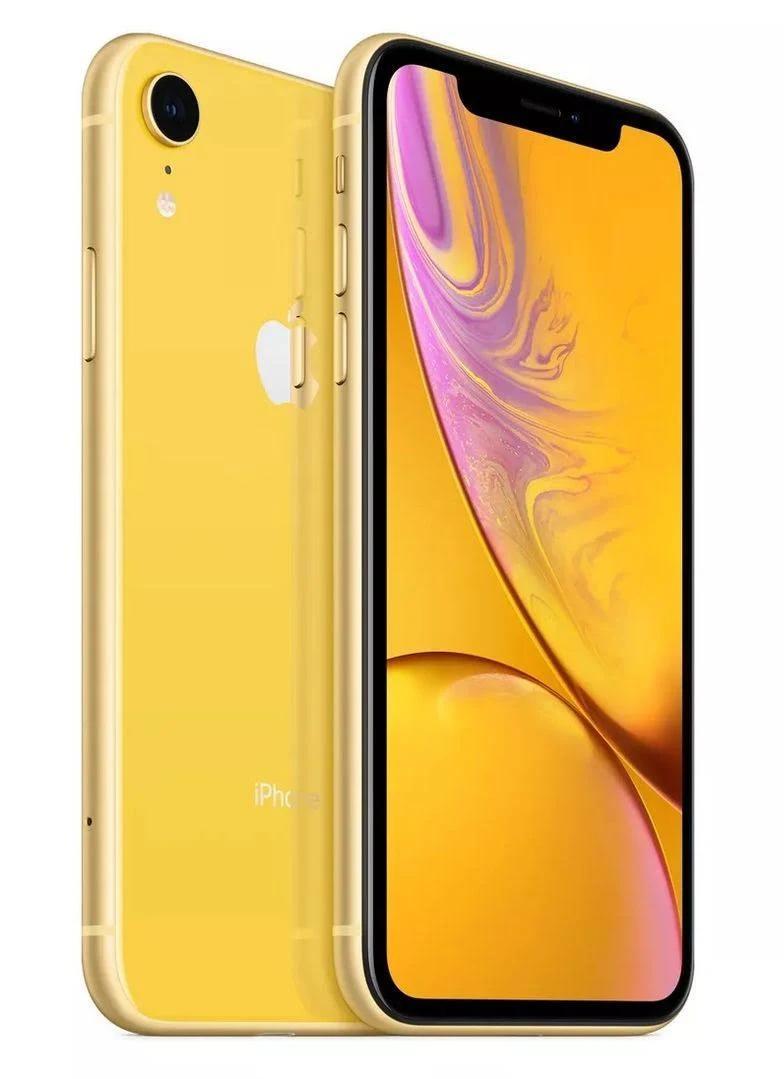Apple iPhone XR 64 GB - gul