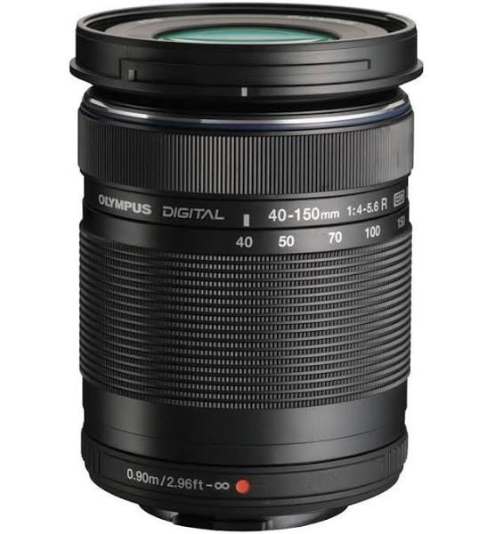 OLYMPUS M.Zuiko Digital ED 40-150mm f/4.0-5.6 R Svart