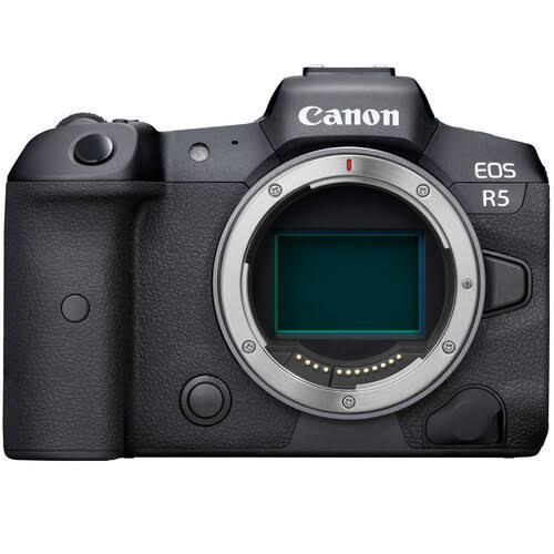 Canon EOS R5 Body Only Mirrorless Digital Camera [kit box]