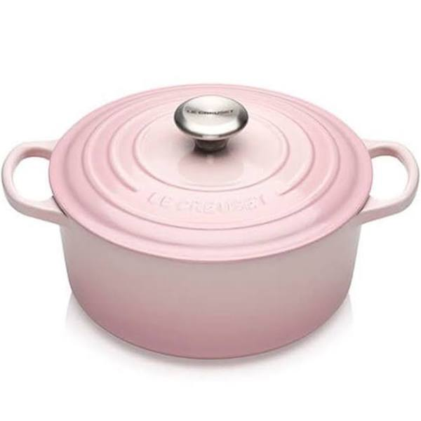 Le Creuset Rund gryta 4,2 L Shell Pink