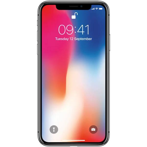 APPLE IPHONE X 64 GB RYMDGRÅ