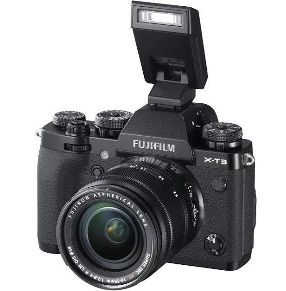 Fujifilm X-T3 + XF 18-55/2,8-4,0 LM OIS Svart