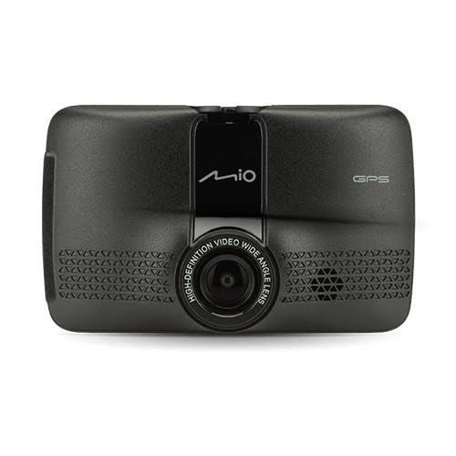 MIO MIVUE 731 Bilkamera med GPS Horisontell betraktningsvinkel=130 Display, Kollisionsvarning