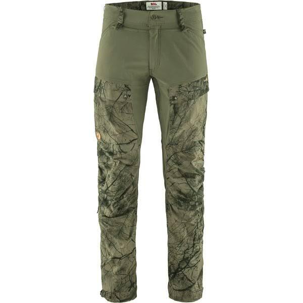 Fjällräven Keb Trousers M Long - Green Camo-laurel Green - Herr - 54