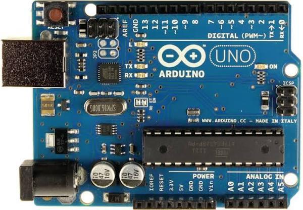 Arduino A000066 Mikrostyrenhetskort, Uno från Elfa Distrelec