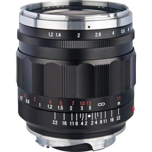 Voigtlander 35mm f/1.2 II Nokton Objektiv för Leica M-Mount