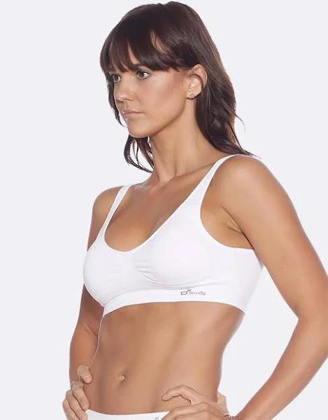 Padded Shaper Crop BH White VIT M