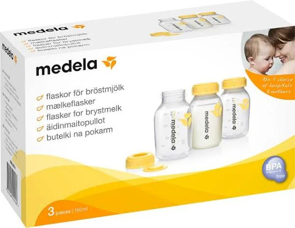Medela Bröstmjölksflaska 150 ml 3-pack