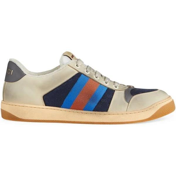 GUCCI Men's Screener GG Sneaker, Size 5