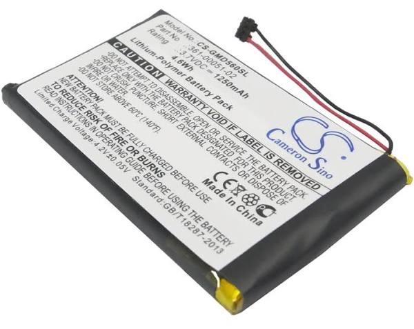 Batteri till Garmin 361-00051-02