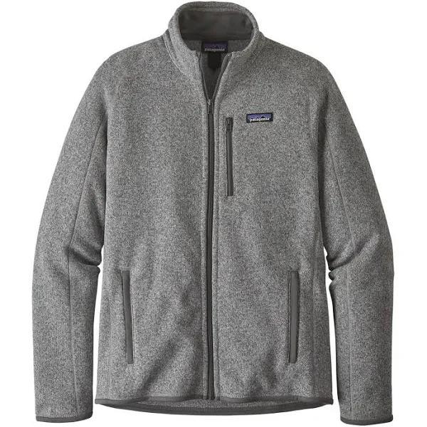 Patagonia Better Sweater Jacket Grey, Mens Fleece Jacket (Size S - Color Stonewash)