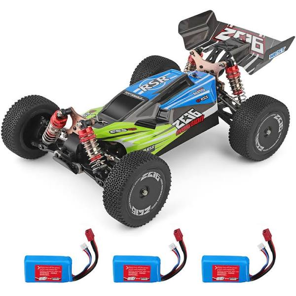 Wltoys Wltoys 144001 1/14 2.4G 4WD High Speed Racing RC Car Vehicle Models 60km/h 7.4v 1500mah Two or Three Battery