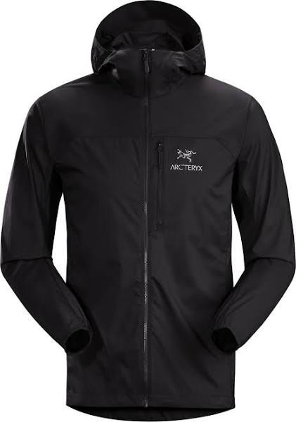 Arc'teryx Squamish Hoody Men vindjacka Black S