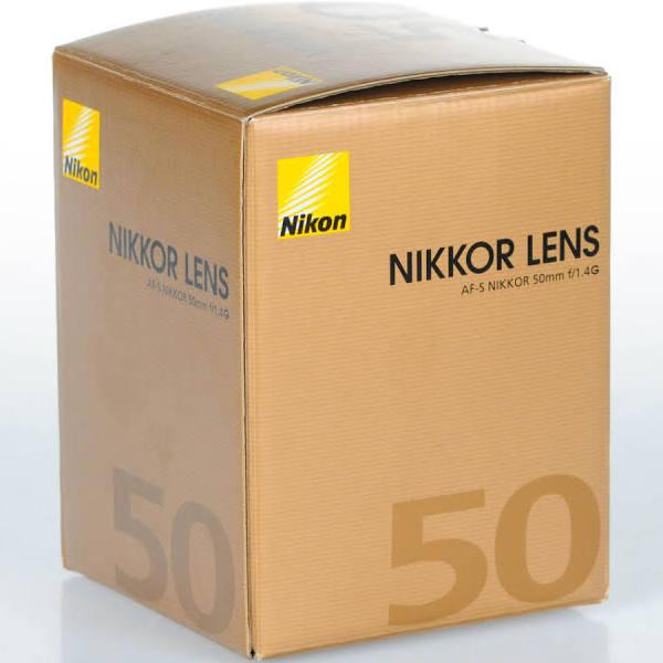 Nikon AF-S Nikkor 50mm f/1,4G