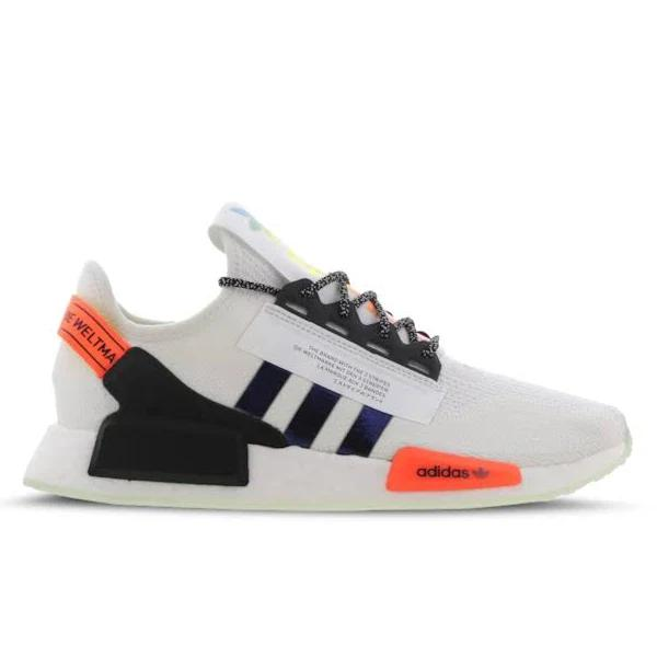 adidas NMD R1 V2 - Men Shoes White Size 45 1/3 at Foot Locker