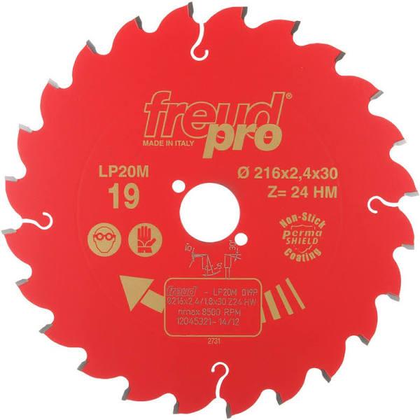 Freud cirkelsåg PRO LP20M 019 TCT Blade - 216 x 30 mm - 24T