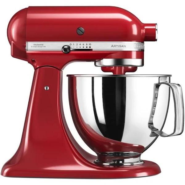 KitchenAid köksmaskin Artisan röd