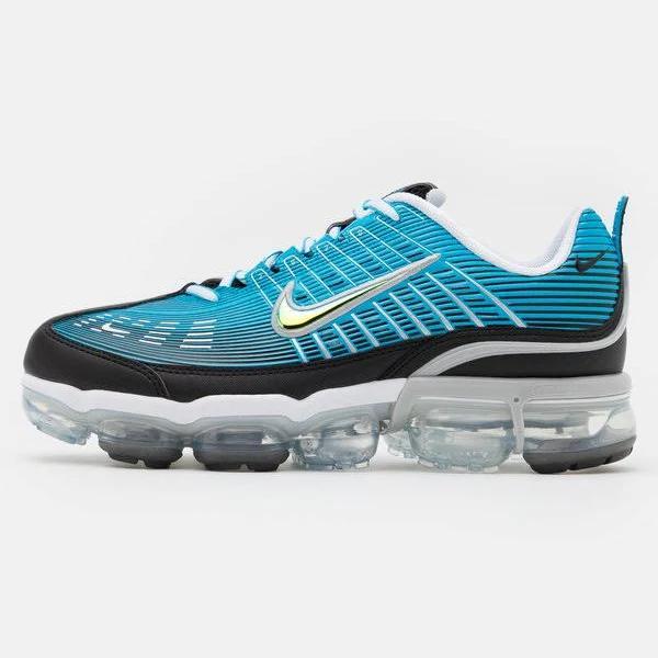 Nike Sportswear AIR Vapormax 360 Sneakers laser blue/black/white/light smoke grey/reflect silver, gender.adult.unisex, Storlek: 47.5, Blå