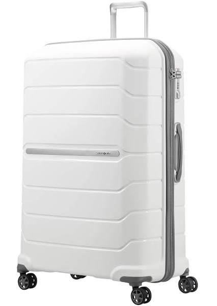 Samsonite Flux - Resväska med 4 hjul - vit
