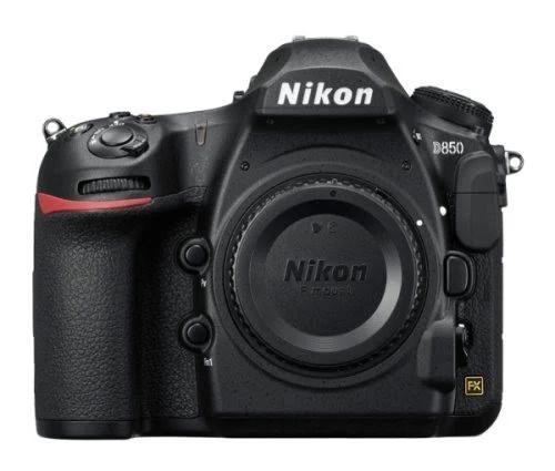 Nikon D850, 45,7 MP, 8256 x 5504 pixlar, CMOS, 4K Ultra HD, Pekskärm, Svart