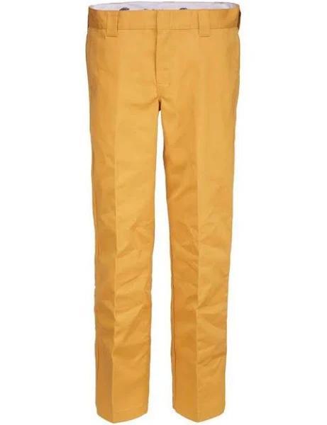Dickies 873 Slim Straight Work Pant (Dijon, W40 / L32)