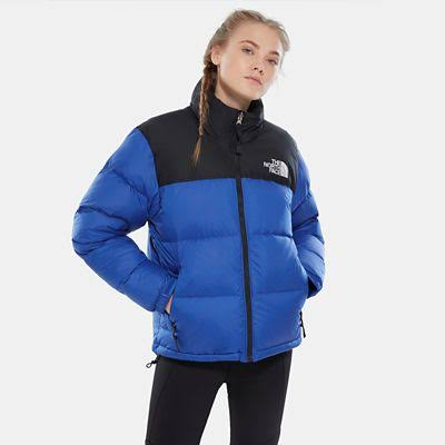 The North Face Women's 1996 Retro Nuptse Jacket Blue - Size: XXL