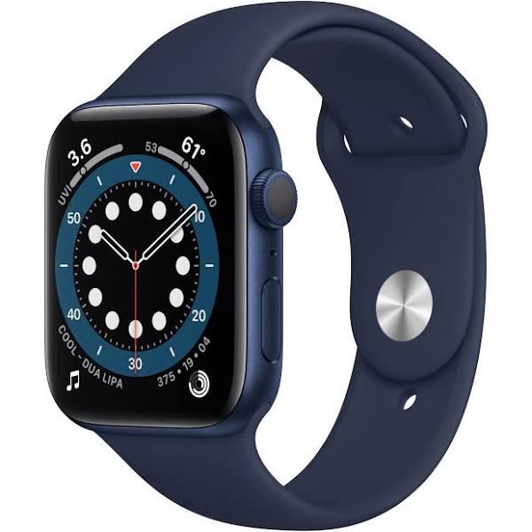 Apple Watch Series 6 (GPS) 44 mm Blå/Navy