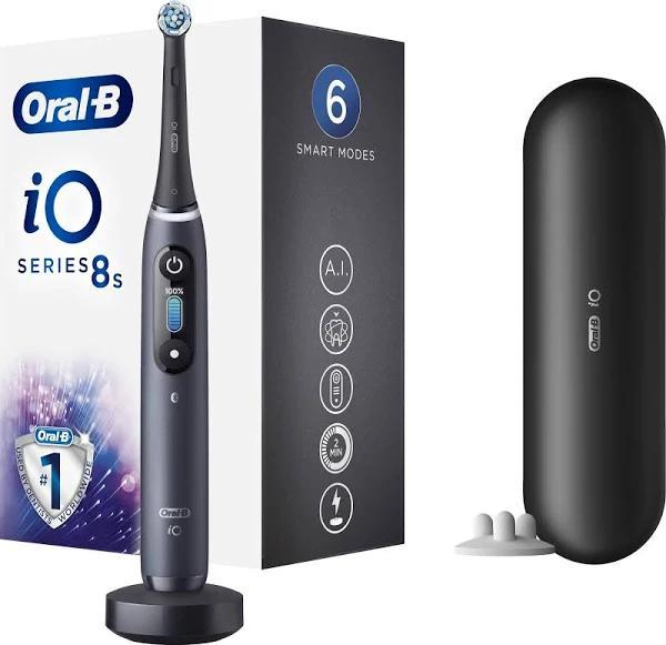 Oral B iO Series 8S eltandborste IO8BK (svart)