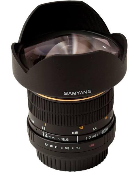 SAMYANG 14 mm F2.8 Canon EF