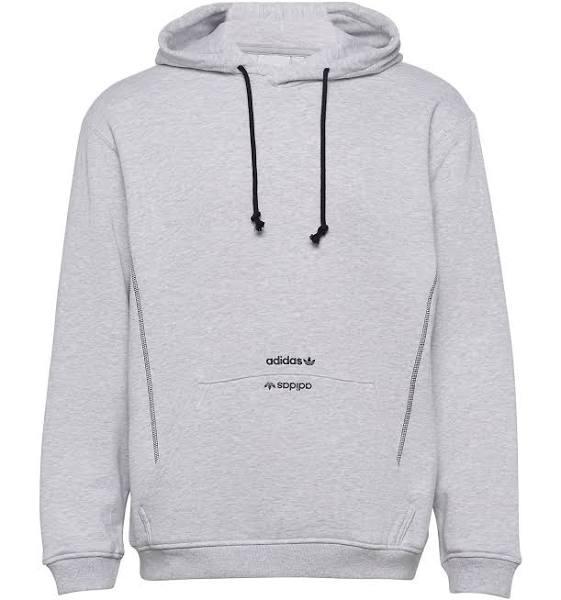 Adidas Hoodie - Herr - Grå