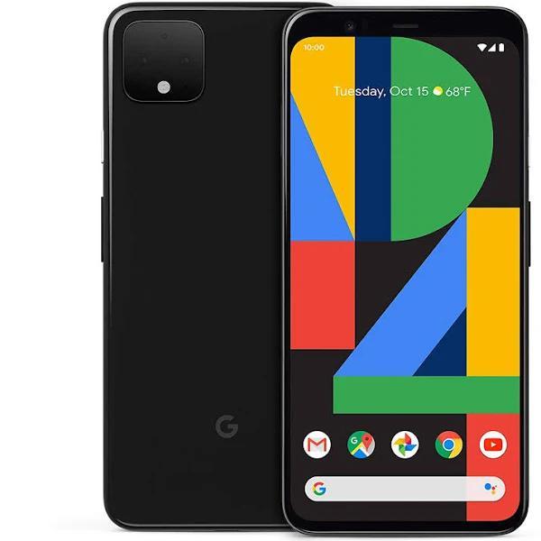 Google Pixel 4 (Storage: 128GB, Network Lock: Unlocked, Colour: Black, Condition: Good)