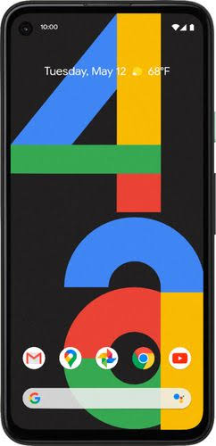 Google - Pixel 4A 128Gb Unlocked - Just Black