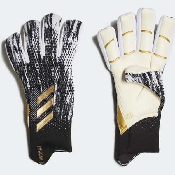 Adidas Predator 20 Pro Fingersave Gloves - Svart