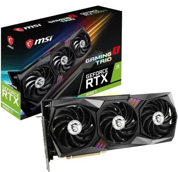 MSI GeForce RTX 3060 Ti GAMING X TRIO 8GB