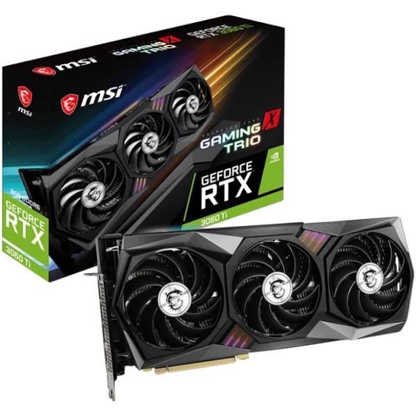 MSI GeForce RTX 3060 Ti GAMING X TRIO 8GB (Non-LHR)