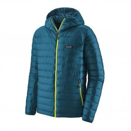 Jacket Patagonia Men Down Sweater Hoody Crater Blue-L