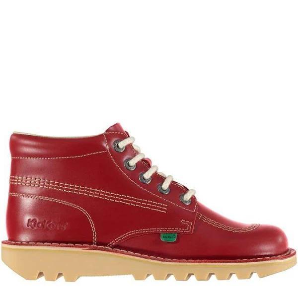 Kickers Kick Hi Classic Boots, 9, Red