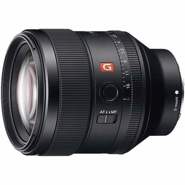 Sony SEL85F14GM FE 85mm f/1.4 GM Lens