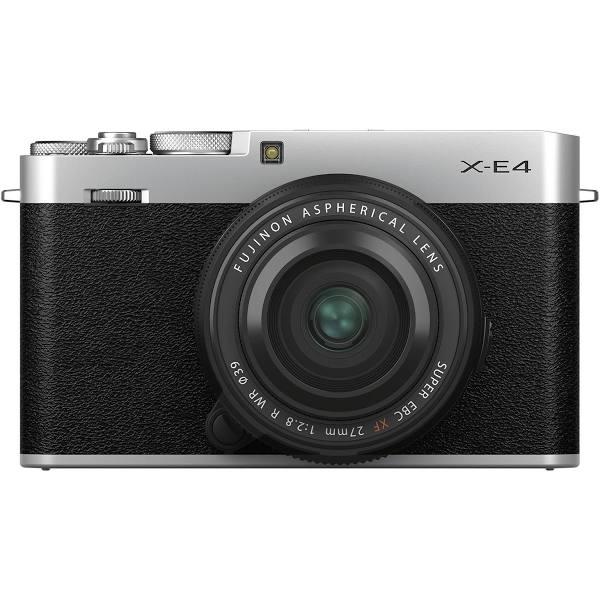 Fujifilm X-E4 + XF 27/2.8 R WR, silver